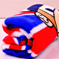 Wholesale GL new winter pet Waterloo pad super soft blankets millet cartoon monkey gentleman to force factory outlets