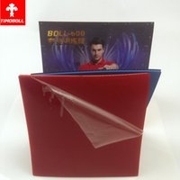Wholesale colors Aggressive Loop Fast Pips in Table Tennis PingPong TIMO BOLL TRAINING WITH RUBBER sponge MAX MM