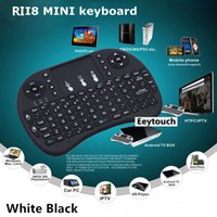 mini pc keyboard - 10PCS Hot Sale Fly Mouse For Google Tv Box MINI PC Touch Flying Squirrel A21 G Wireless Qwerty Wifi keyboard With Smart TV A21 RII I8