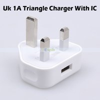 Cheap 5V 1A UK Plug Charger 1000MA USB Wall Charger Travel Charger with IC For Smart Phone iPhone 4 5 6 Samsung 5 4 3 2 HTC LG