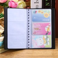Wholesale Lowest price Portable Cards Leather Business Name ID Credit Card Holder Keeper Organizer Book ZH275