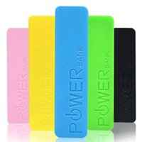 Wholesale 2016 New Fashion mAh Universal Backup Portable charger Power Bank external with battery for iphone Samsung All Mobile Devices