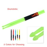Wholesale High Quality One Pair A Nylon Material Drum Sticks Colors Drumsticks for Choosing Druml Accessories