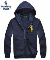 Gros-2015 manteau de la veste à capuche Polo Mens, survêtements Baseball, sport taille veste blazer M-3XL, 5 Couleur