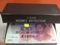Wholesale Small mini portable ad money detector light money detector violet lamp money detector machine purple light money detector