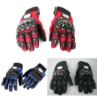 Wholesale Motorcycle Racing Accessories Parts Bike Bicycle Cycling Full Finger Protective Gear Gloves Free Drop Shipping