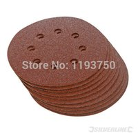 sand paper - 25pcs Sandpaper Sanding Paper for Rotary Sander mm Velcro Grits Power Tools Accessories