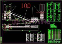 Wholesale HZS100 concrete mixing plant drawings Full Machining drawings ATUO CAD
