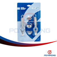 Wholesale PQY STORE Silver color SPA Alloy Bonnet Hood Pin Lock Kit Down Hood Locks Pins fit ALL Racing Speed PQY HPL31S