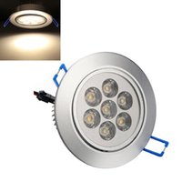 Wholesale Non Adjustable Warm White Lumen W LED Ceiling Downlight LED_310