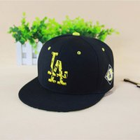 Wholesale 2016 New Fashion Baseball Cap Casquette Acrylic Adult Letter LA Flat Hip hop Hat Gorras Snapback for Men and Women Last Kings