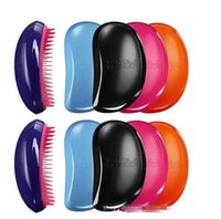 elites hair - Professional Salon Elite Tangle Detangling Hair Brush HairBrushes Combs TT Brand by Teezer Assorted Colors