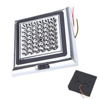 Wholesale 12V LED Car Vehicle Dome Light Led Indoor Roof Ceiling Lamp Interior Decorative Dome Light Square White