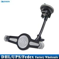Wholesale Free DHL Fedex Tablet PC Bracket Car Sucker Universal Extension Hose