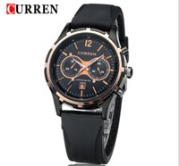 auto models list - 2015 Rushed Limited Edition Men s Auto Date Watch Women Hot Explosion Models Curren Men Watch Retro Fashion Casual Slim Black Silicone List