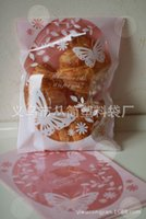 Wholesale Baking bag food bag gift bag pink lace love bag biscuits environmental protection material