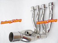 Wholesale For Suzuki GSXR K6 Exhaust System Downpipes Headers Pipe Stainless Steel order lt no track
