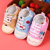 babay shoes - Newborn Baby First Walking Cute Cartoon Baby Running Shoes Babay Prewalker Crib Shoes For Boys Girls Tenis Con Ruedas