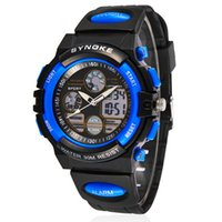 Wholesale New SYNOKE double movement fashion explosion models waterproof sports watch