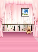 bear floor lamps - 600CM CM backgrounds Floor lamp fence toy bear mural photography backdrops photo LK
