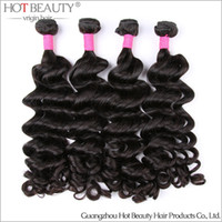 Brazilian Hair beauty products - 4pcs New Arrival Brazilian Virgin Hair Loose Curly Brazilian big curly human Hair Extensions hot beauty hair product