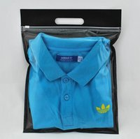 t-shirt bags - 35 CM HIGH QUALITY Shopping Packaging Plastic and Non woven Bag for clothes t shirt