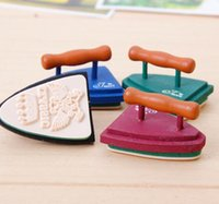 Wholesale Free ship pc Retro iron seal student multifunctional seal creative stamp
