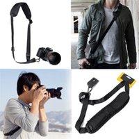 Wholesale High Quality Black Shoulder Neck Belt Sling for Nikon for Canon EOS Camera DSLR SLR