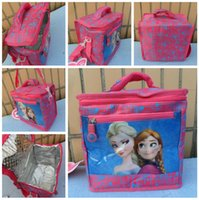 Wholesale Factory price New Frozen handbag frozen lunch bag lunch box frozen Handbag Princess Alsa Anna handbag Frozen bgas LJJD1036