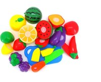 Wholesale Reliable Kitchen Food Pretend Play Toy Cutting Fruit Vegetable for Kid Children Gift set
