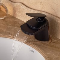 big basin waterfalls - Modern Oil Rubbed Bronze Big Waterfall Bathroom Basin Faucet Deck Mounted Vanity Sink Mixer Tap