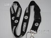 apple logo key - Black Yamaha neck lanyard for keys Car logo key straps