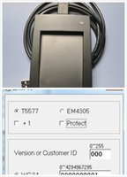 Wholesale DHL Access Control khz RFID ID EM Reader Writer Copier Duplicater ATA5577 T5557 T5567 EM4305 with software