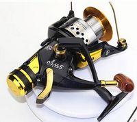 Wholesale Special Offer Rear Front Drag CARP Fishing Spinning Handbrake Reel BB Aluminum Ball Bearings SW5000