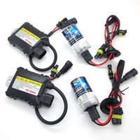 Wholesale 55W DC V H1 H3 H7 H8 H9 H11 Xenon HID kit Car Headlight Conversion lamps K