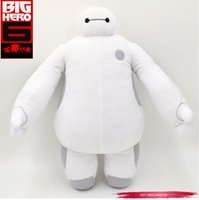 Wholesale 20cm High Quality Big Hero Baymax Stuffed Plush Toy Robot Doll Soft Baby Classic Christmas Toys for Kids Baby Children