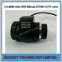 auto body videos - 3 mm Varifocal F1 Auto Iris Manual Zoom CCTV Lens CS Mount For Video Security Box Body Camera