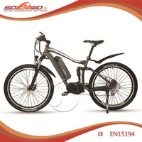 electric bicycle motor - 2016 new hot selling high powerful electric bicycle with stronger Mid motor lithium battery for salelling