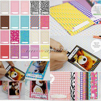 mini album - 100pcs Polaroid Photo Films Skin Sticker Album For FujiFilm Instax Mini S s