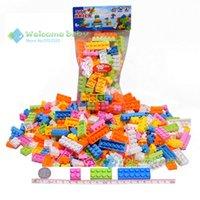 abs granule - set bulk bricks self locking ABS plastic building blocks in bulk diy granules educational toys enlighten bricks for boy
