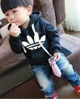 designer brand childrens clothes - Hot sale Childrens brand designer Clothing Sport Baby Boy Hoodies Childrens Girls Top Shirts Hooded Sweater Boy Hoodies