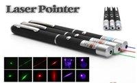 Wholesale powerful mW nm Green Red Blue Laser Pen pointer powerpoint presenter remote lazer pointer Single beam Stars