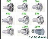 gu10 led - High power CREE Led Lamp W W W W W W W Dimmable GU10 MR16 E27 E14 GU5 B22 Led Light Spotlight led bulb downlight lamps