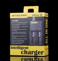 Wholesale Original Nitecore I2 Universal Intellicharger Charger for Battery E Cigarette Multi Function with Security Code