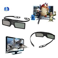 2015 Nueva Marca Gonbes universal obturador Bluetooth gafas activas 3D de Samsung / Panasonic para Sony 3DTVs Universal TV 3D Glasses