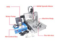 Wholesale 800W Z S Axis cnc router Drilling Milling Machine water cooled cnc router use to industry