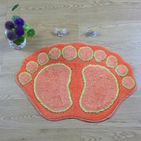 Wholesale 10pcs carpets rugs New Rainbow Carpet Mat big feet Taobao selling factory direct hair mats doormat mat