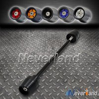 axle case - New Color Motorcycle Front Axle Sliders Protector For Suzuki GSX R GSXR1000 C30