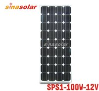 Wholesale 100W V Module Monocrystalline Solar Panel