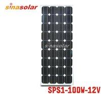 Купить Solar panel-Панель 100W 12V Модуль монокристаллический солнечные